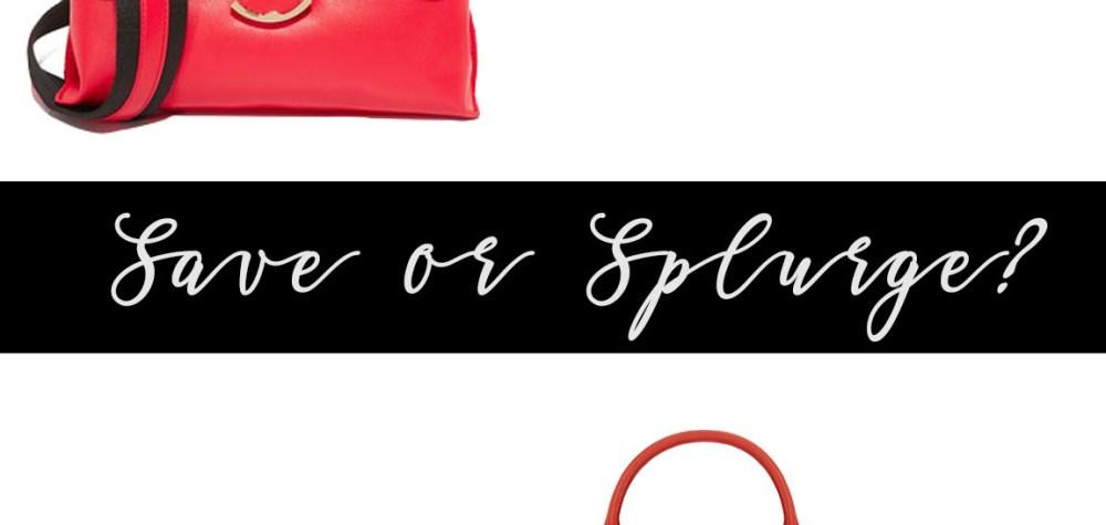Save or Splurge: Top Handle Handbags