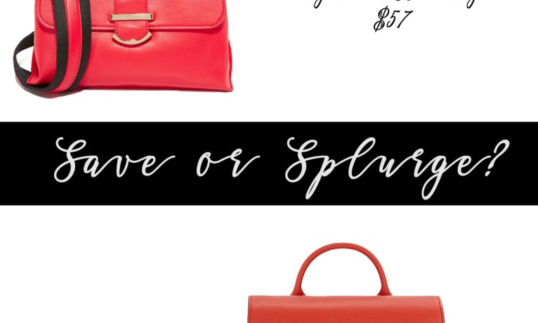 Save or Splurge: Top Handle Handbags