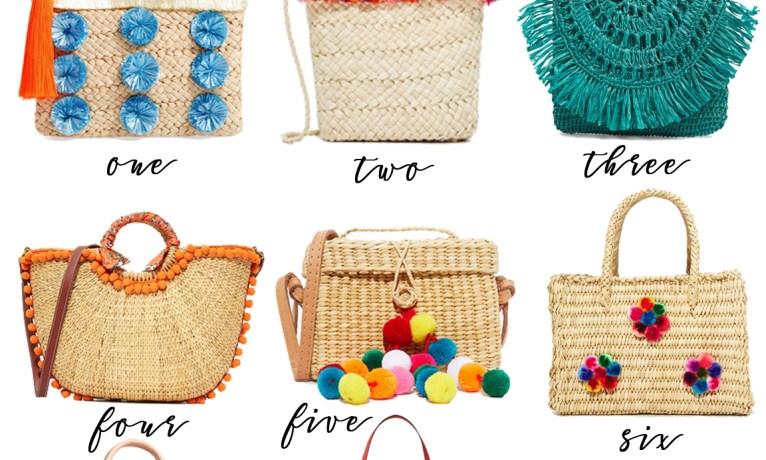 Pick of the Week: Straw Handbags