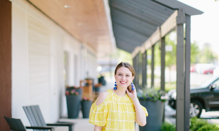 Summer Brights: A Happy Yellow Dress