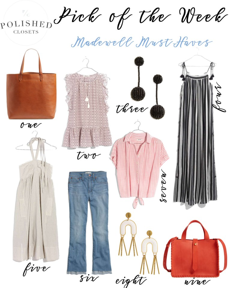 Effortlessly cool Madewell Clothing and My Top Picks by Fashion Blogger Maggie Kern of Polished Closets