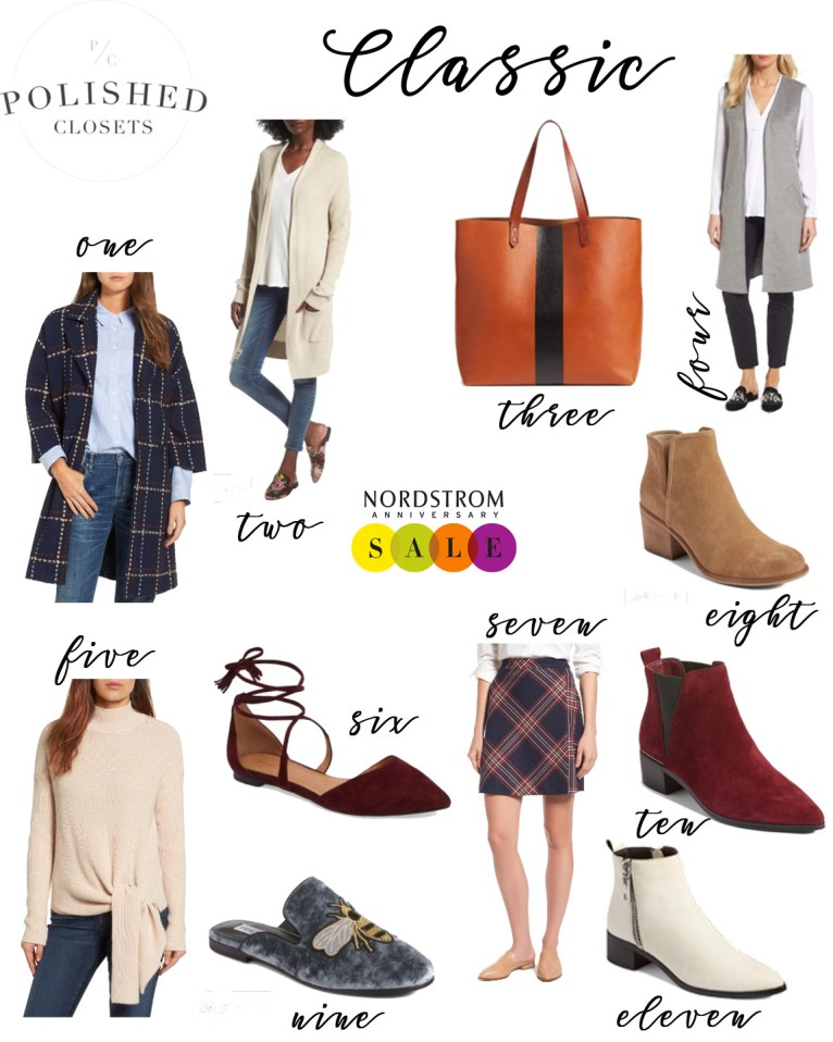 Classic Style Picks from the Nordstrom Anniversary Sale 2017 by Fashion Blogger Maggie Kern of Polished Closets