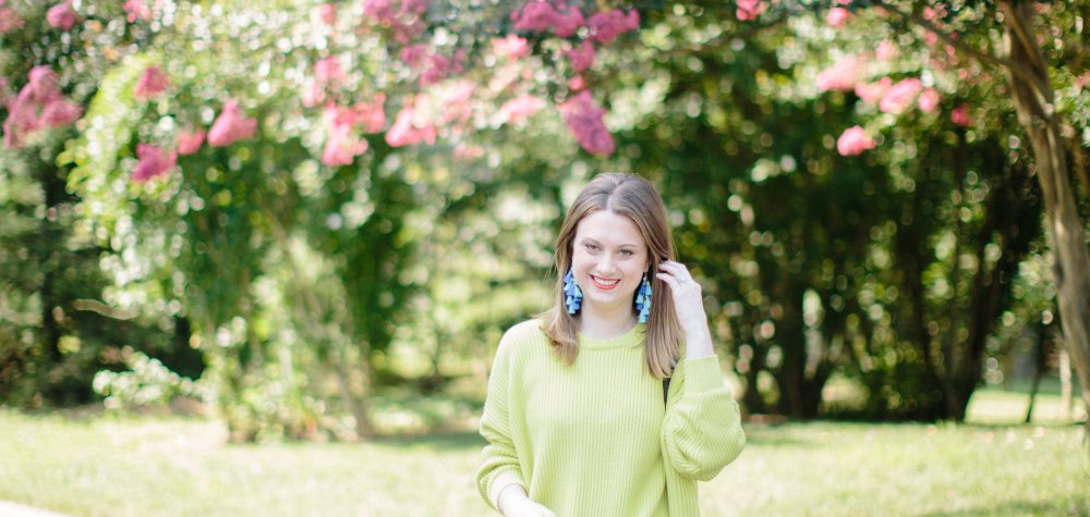 Bringing Brights into Fall: A Neon Sweater