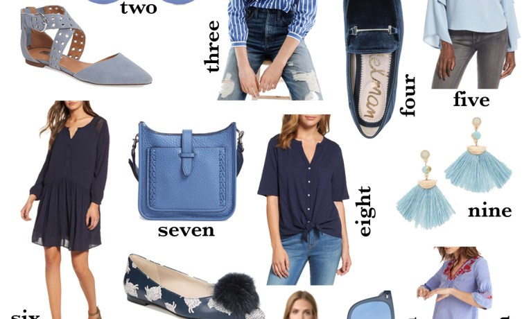 The Look: All Things Blue