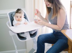 How to Pick the Best Highchair for your Baby by lifestyle and mom blogger Maggie Kern of Polished Closets