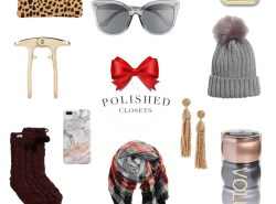 A holiday gift guide for her - all under $50! by fashion and lifestyle blogger Maggie Kern of Polished Closets
