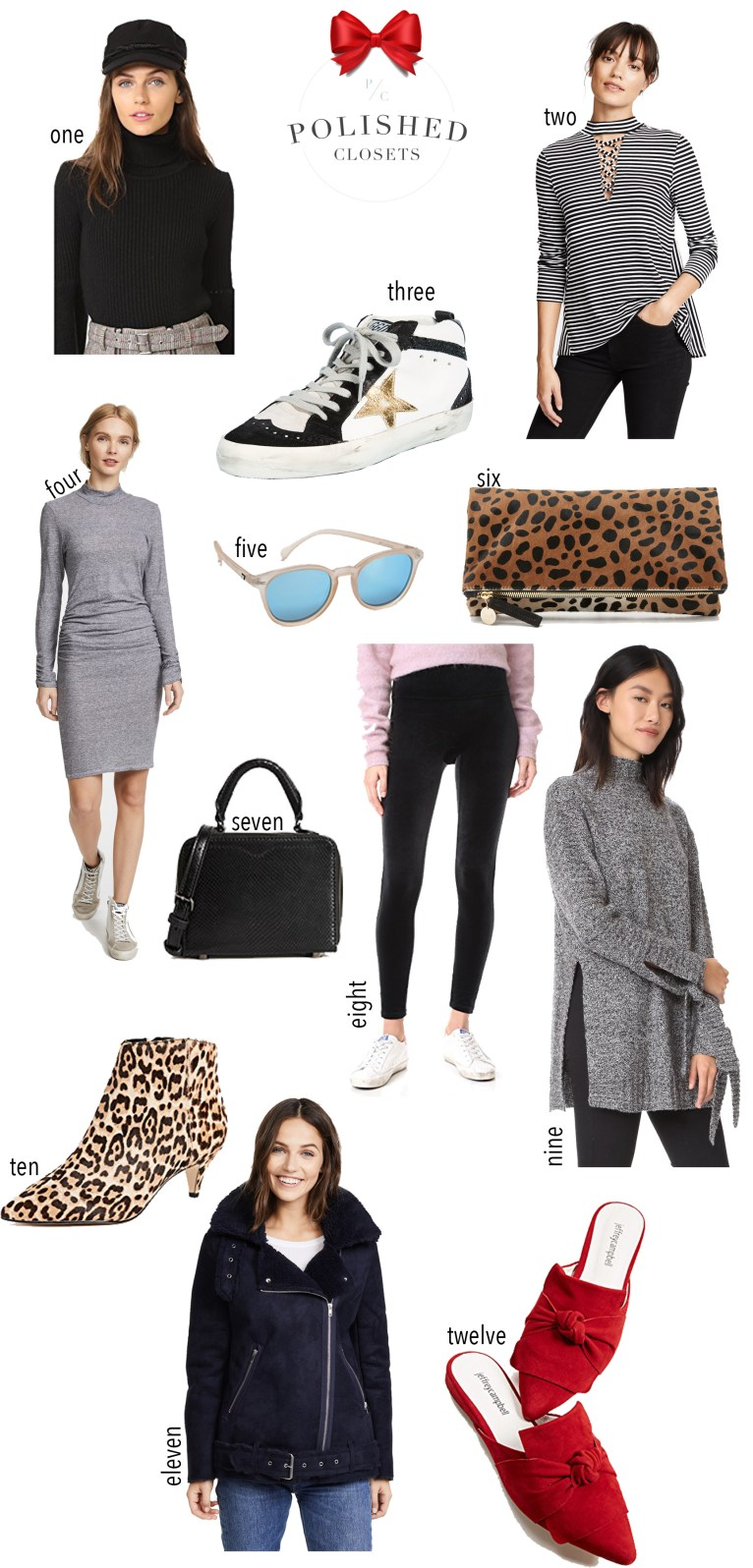 The best Black Friday sales picks from Shopbop by fashion blogger Maggie Kern of Polished Closets.