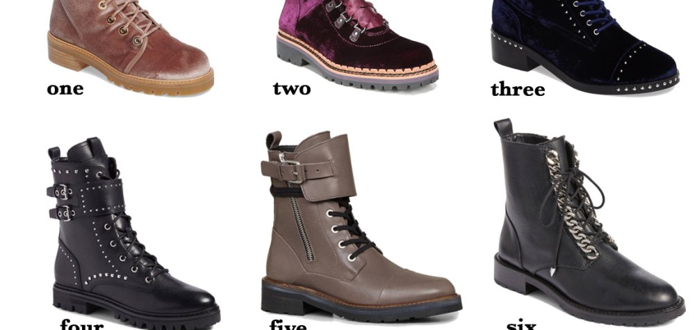 Pick of the Week: Combat Boots
