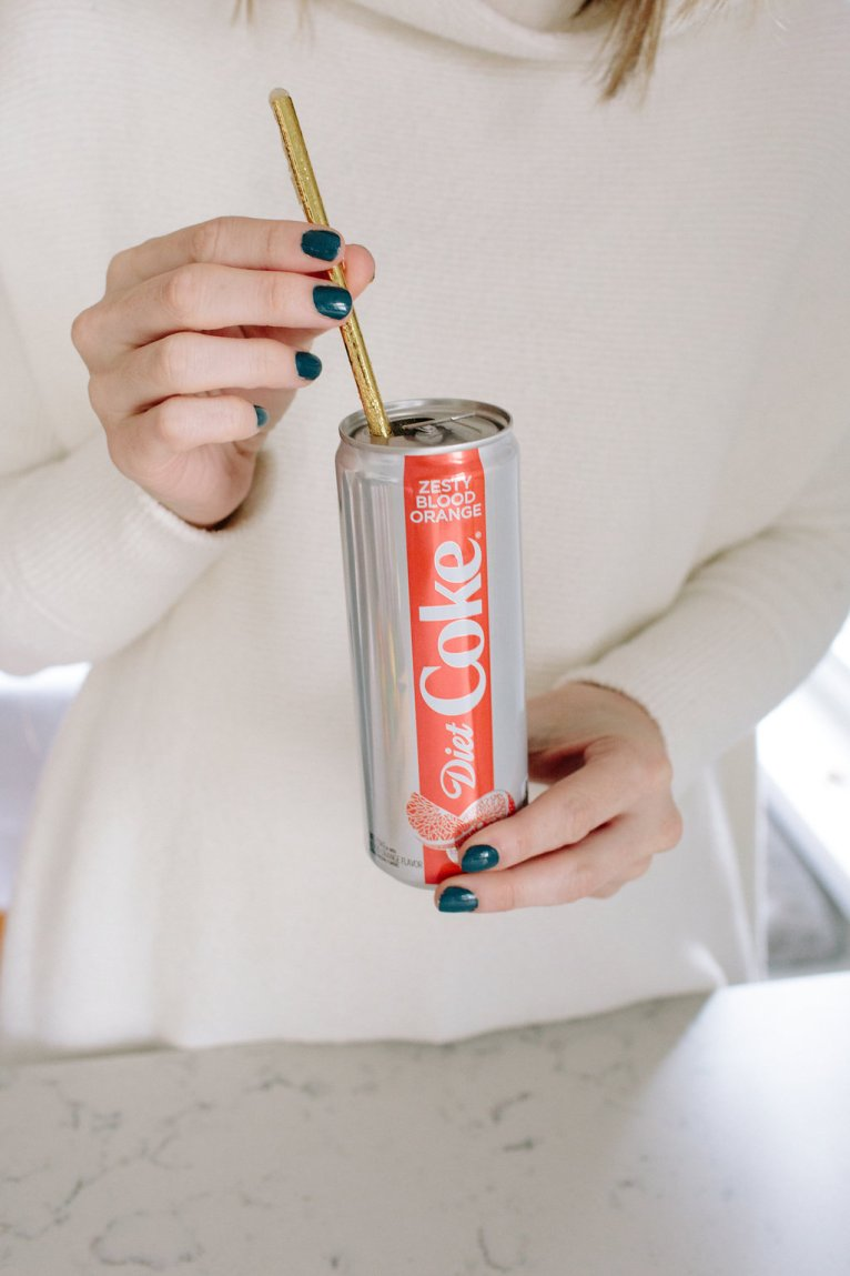 Introducing the new flavors of Diet Coke! by Maggie Kern of Polished Closets