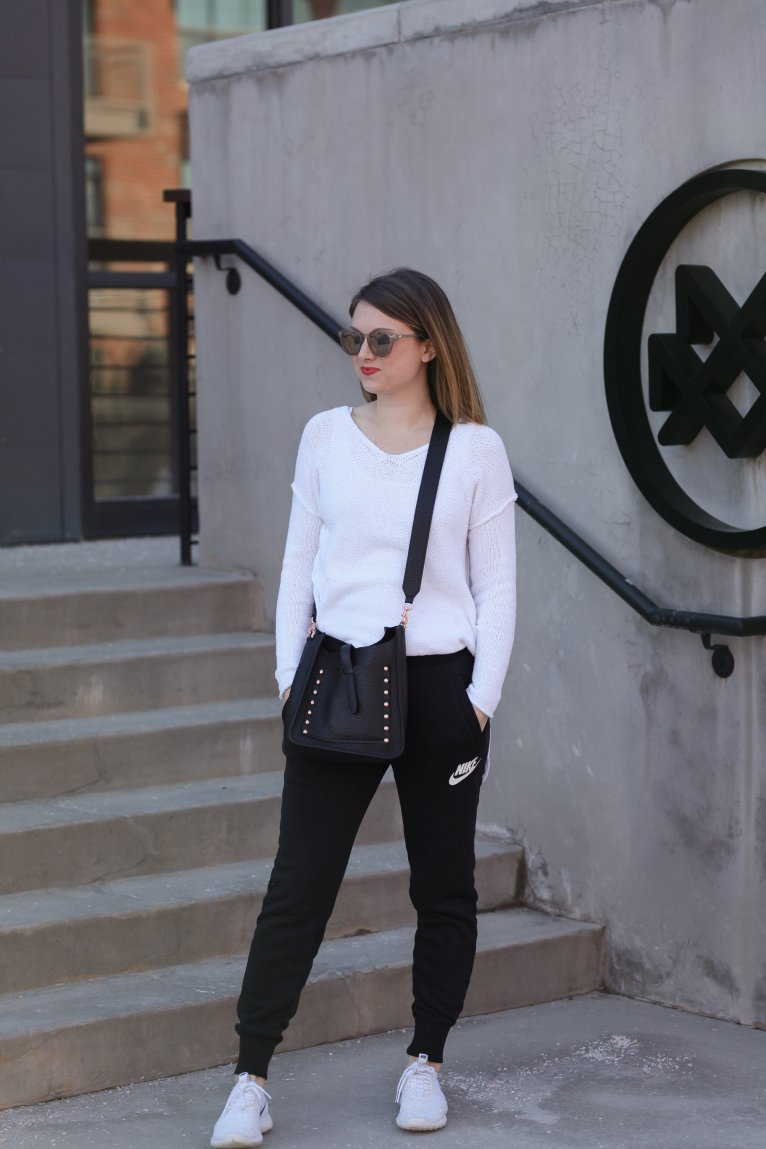 Weekend Uniform: Joggers and a sweater