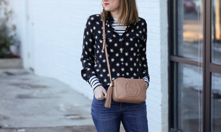 A Classic Button Up with a Twist: Seeing Stars