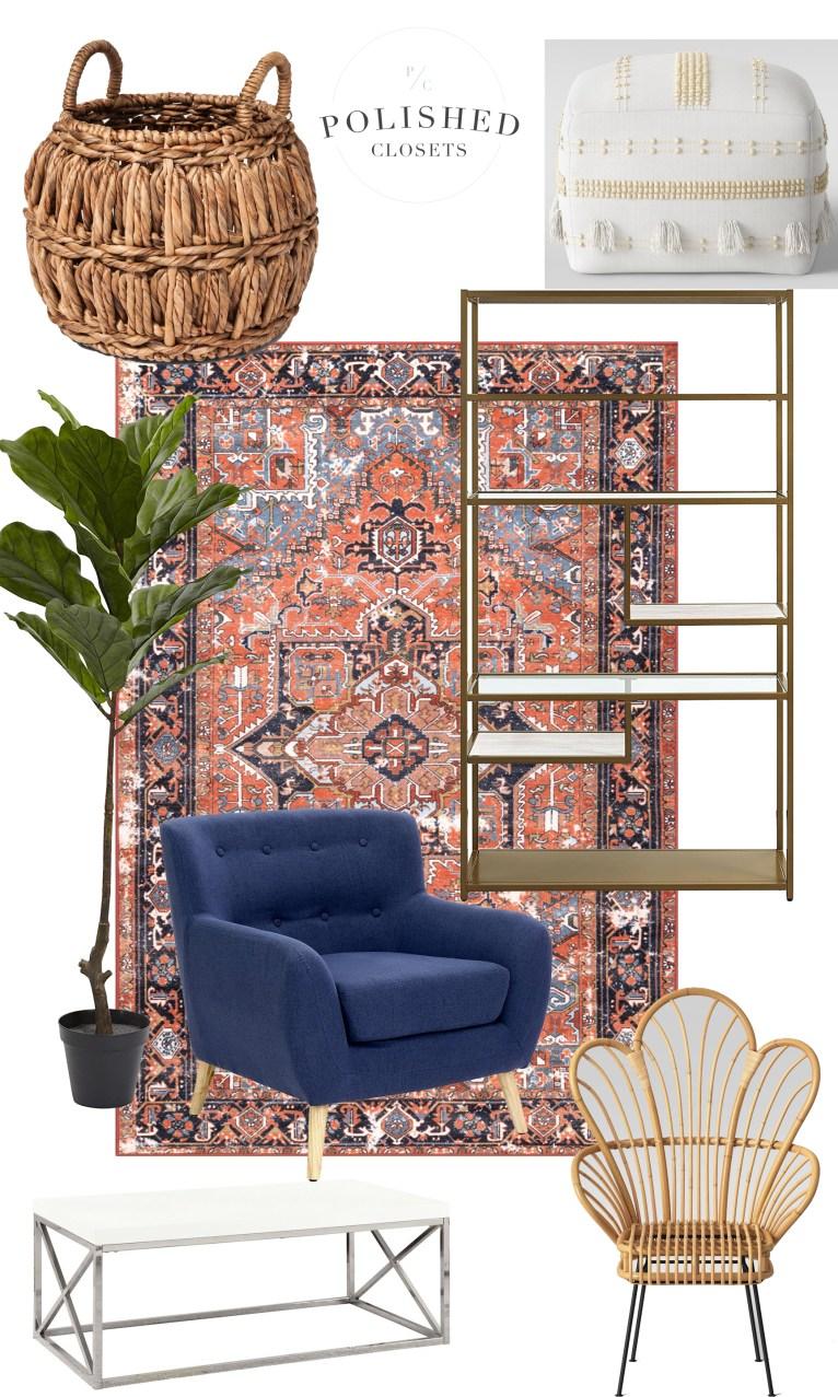 A Modern Boho Inspired Living Room on a Budget! on Modern Boho Room  id=61335