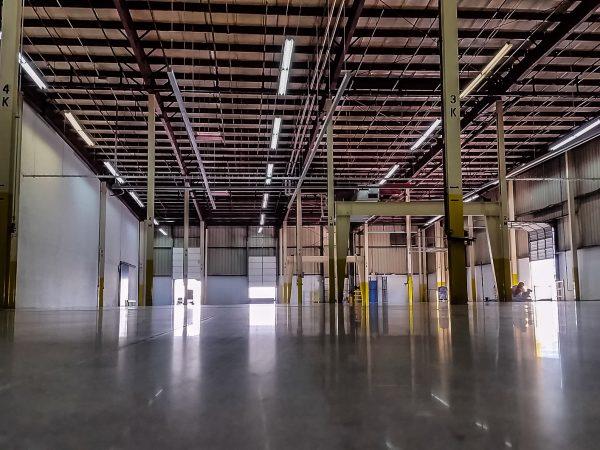 Polished Concrete Warehouse in Kansas City, Missouri