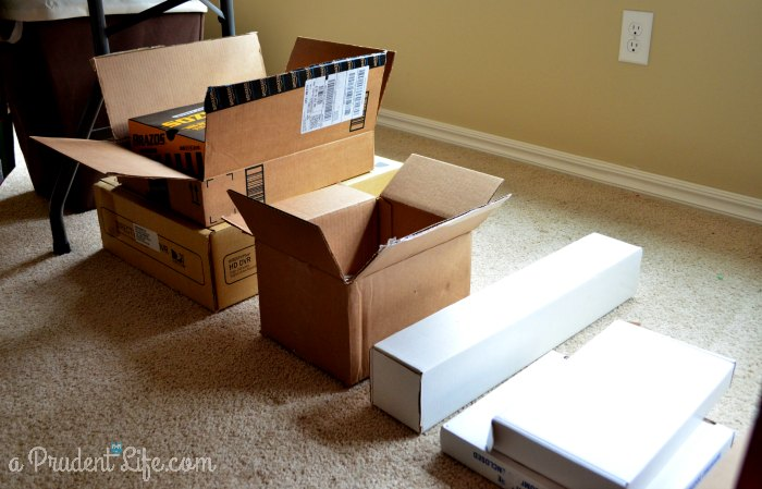 Wrapping Station - Boxes