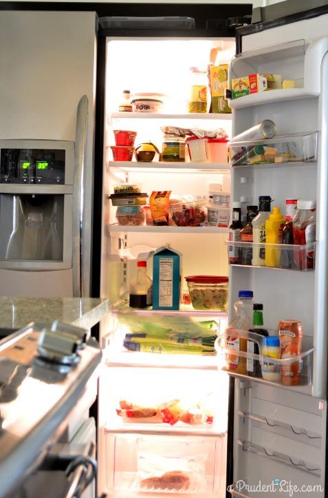 Refrigerator BEFORE