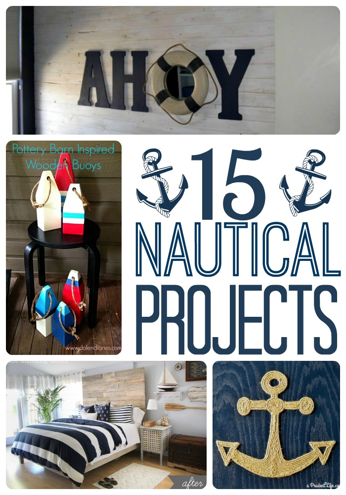 Collection of 15 awesome DIY nautical projects