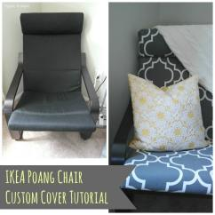 Chair Cover Ideas Mario Bellini Diy Ikea Poang - Polished Habitat