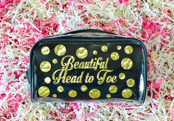 DIY Make Up Bag - So Easy!!!