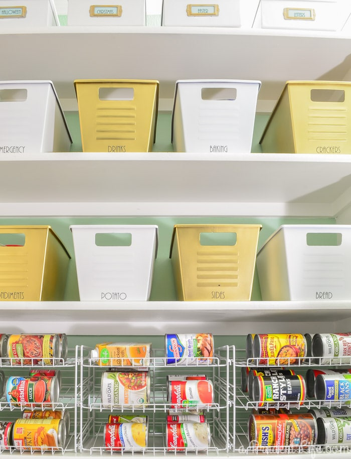 Canned Food Storage Ideas