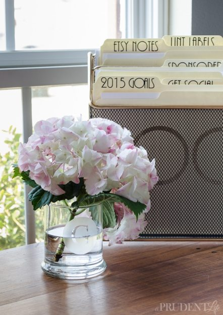 Dollar Store Vase Makeover: Add a monogram with etching cream
