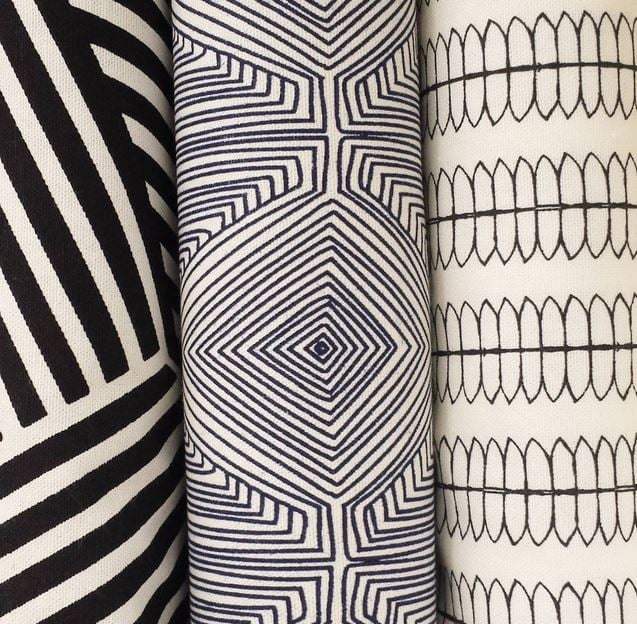 My favorite options from the Nate Berkus fabric line at Jo-Ann.