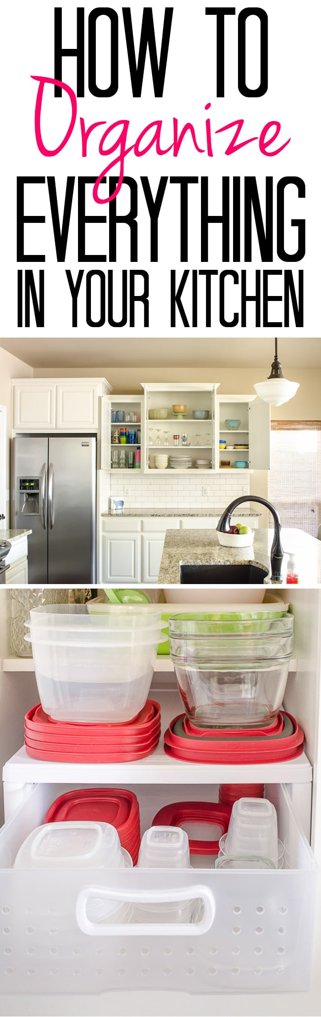 How to Organize Everything in Your Kitchen  Polished Habitat