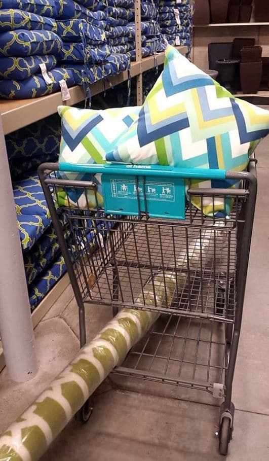 At Home Store Outdoor Rugs & Pillows