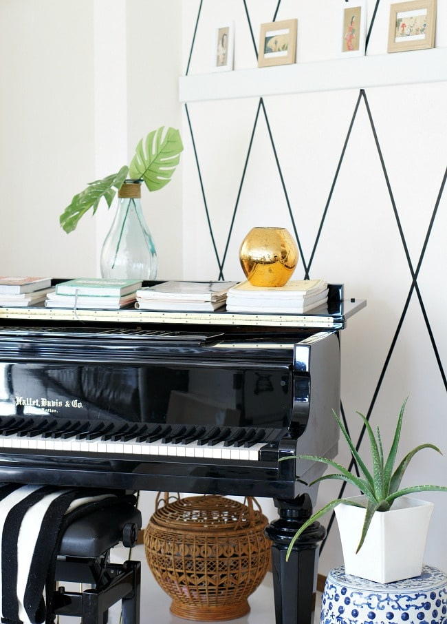 easy wall treatment for your rental