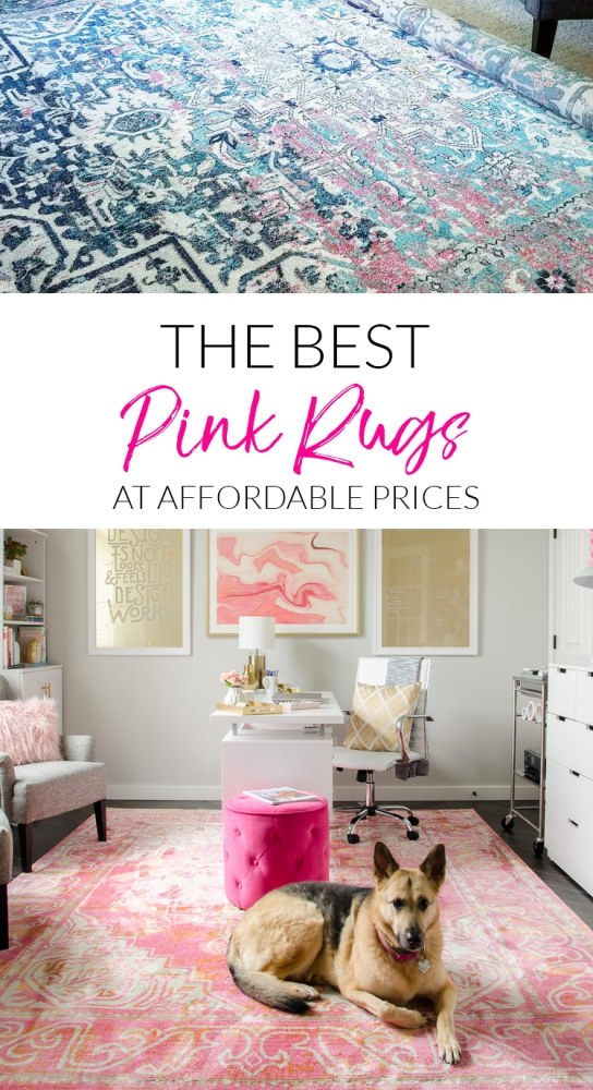 A Pink Rug For Every Style From Modern Blush To Vintage Hot Pink