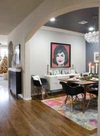 Modern Glam meets Mid-Century Christmas Dining Room ...