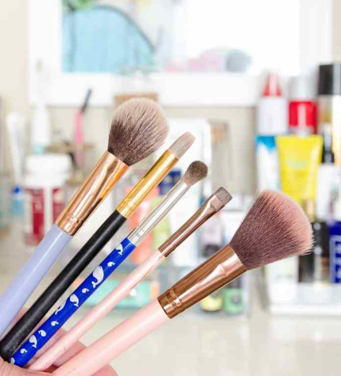 How To Clean Makeup Brushes Fast Fix Friday Polished Habitat