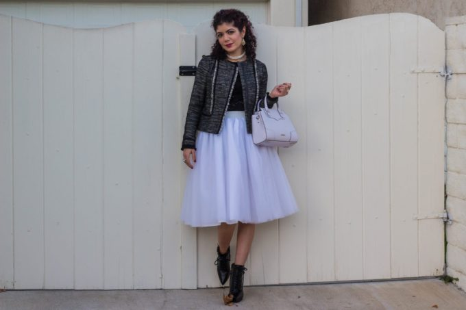 Polished whimsy in victorian romance theme outfit