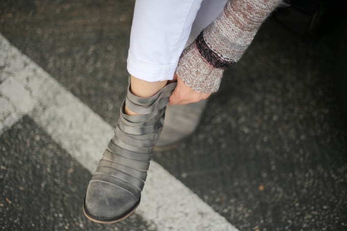 Polished whimsy in free people hybrid leather ankle boots
