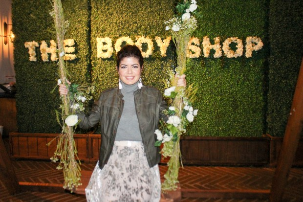 The Body Shop almond milk and honey event at Gracias Madre restaurant in Santa Monica