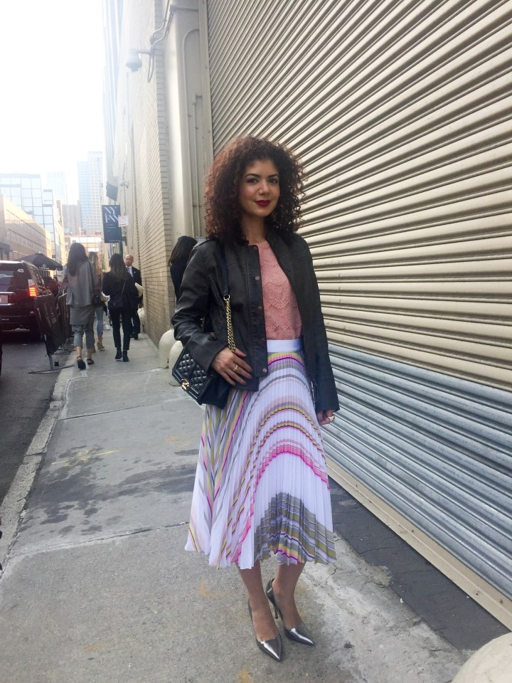 My NYFW experience: meeting and seeing friends and other bloggers