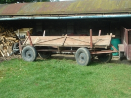 Polish farm cart