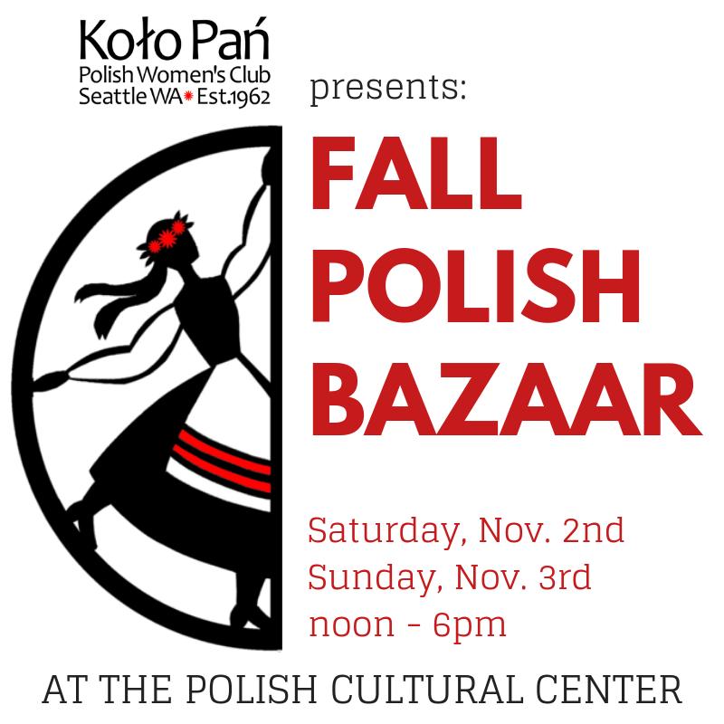 Nov. 2&3: Annual Fall Bazaar