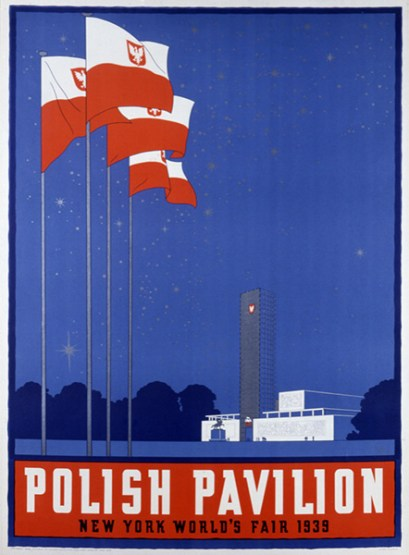 8_NY Fair-Polish Pavilion Poster