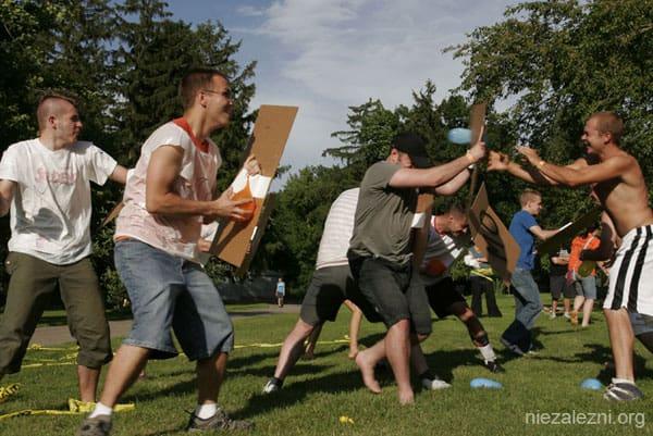 """Bitwa"""" Studentów z ZOMO"""