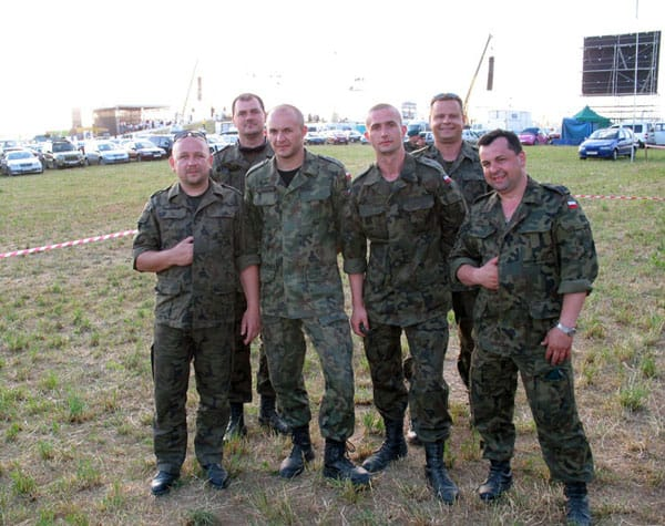 Group of Polish Soldiers
