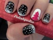 christmas nails polishpedia