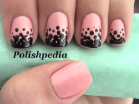 Gradient Polka Dot Nails | Polishpedia: Nail Art | Nail ...