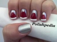 Santa Claus Hat Nail Art | Polishpedia: Nail Art | Nail ...