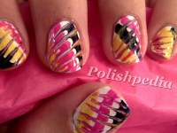 Tie Dye Nails   Polishpedia: Nail Art   Nail Guide ...
