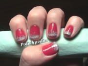 ombre christmas nail art polishpedia