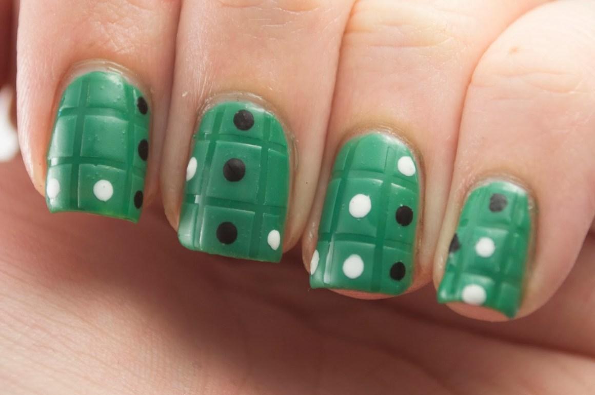 Nail-Art-A-Go-Go: Day 19 - Game Night • Polish Those Nails