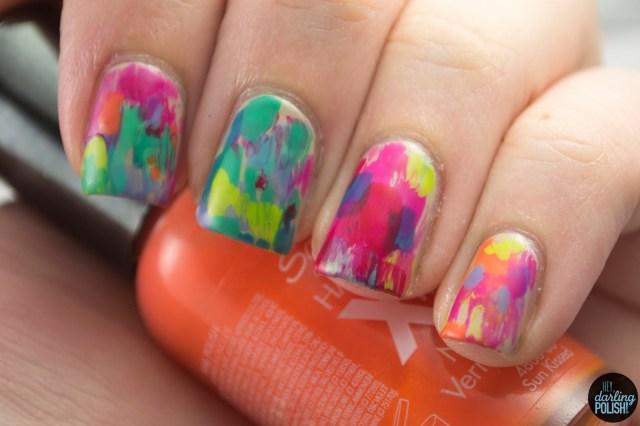 nails, nail art, nail polish, polish, oils, abstract, hey darling polish, nail art a go go