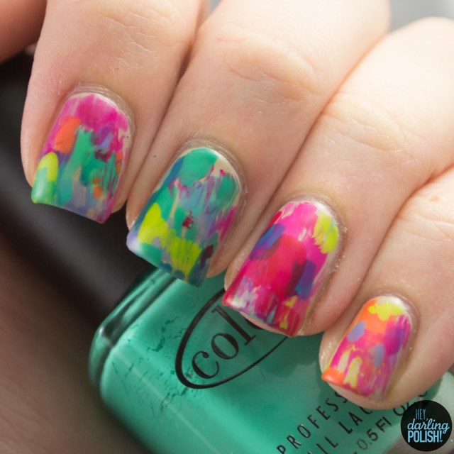 nails, nail art, nail polish, polish, oils, abstract, hey darling polish, nail art a go go