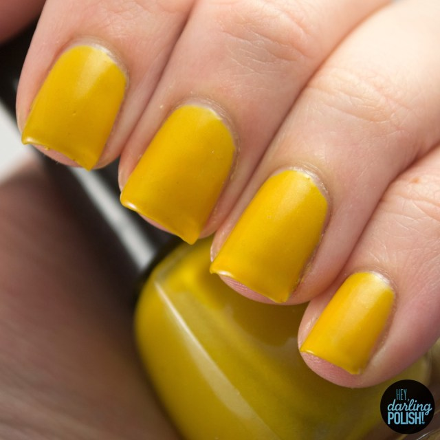 mango, yellow, indie, indie polish, indie nail polish, nail polish, swatches, swatching, hey darling polish, star crushed minerals