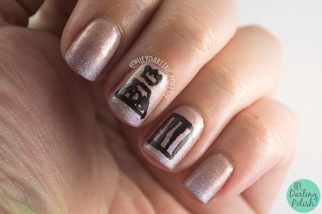 Oh Mon Dieu 2 - Holographic • Polish Those Nails